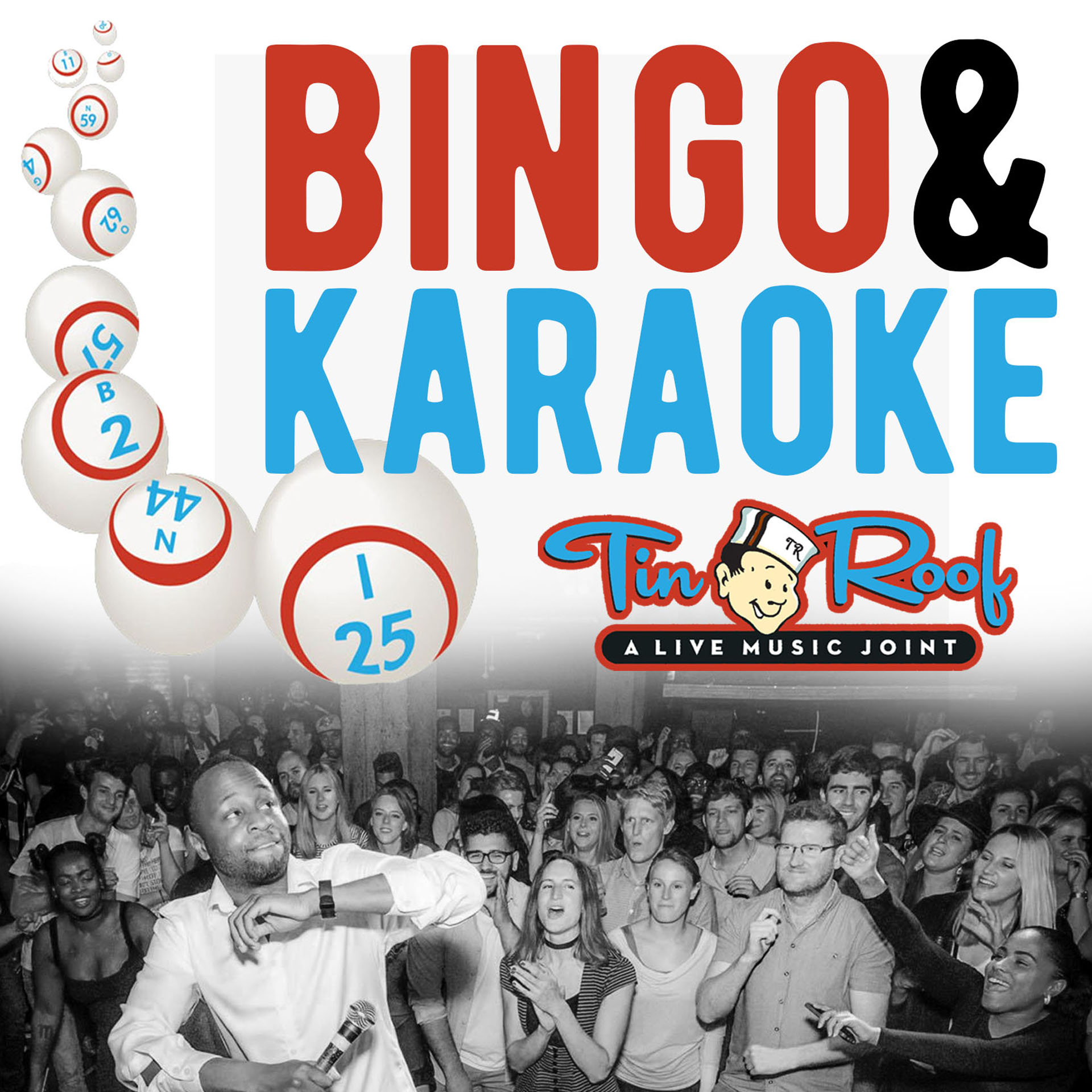 Bingo & Karaoke Every Wednesday Night